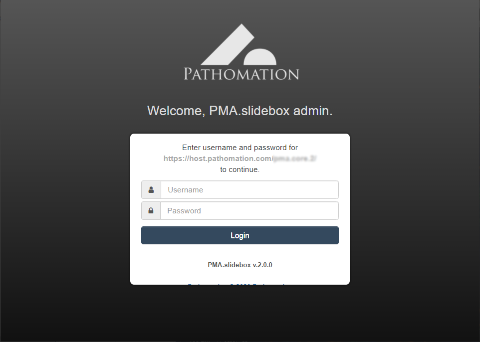 PMA.slidebox secure login