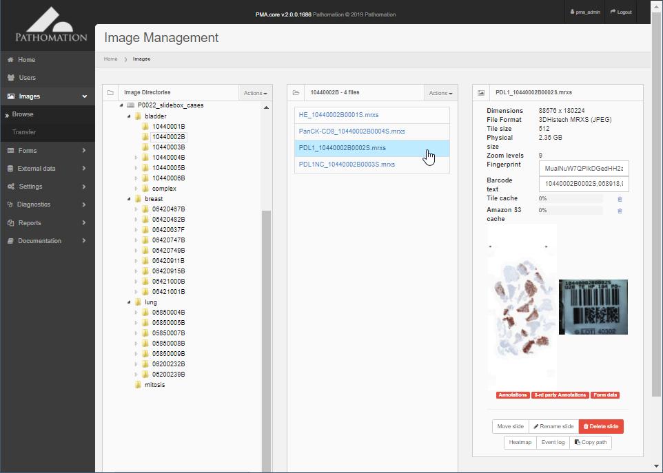 Manage PMA.slidebox cases in PMA.core